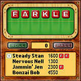 Farkle Dice Palm Game